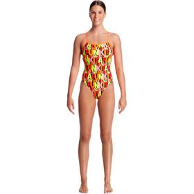 Funkita Strapped In One Piece Strój kąpielowy Kobiety kolorowy